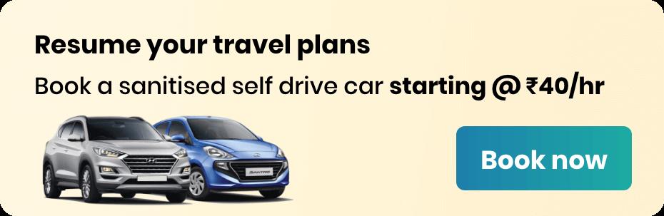 Book self drive car rental